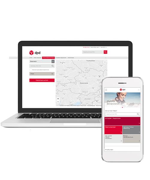 Plattform Für Paketmanagement Mydpdat Dpd