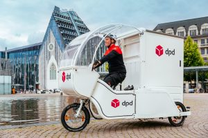DPD Germany delivery by bike