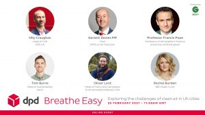 Breathe Easy_DPD UK virtual event clean air cities