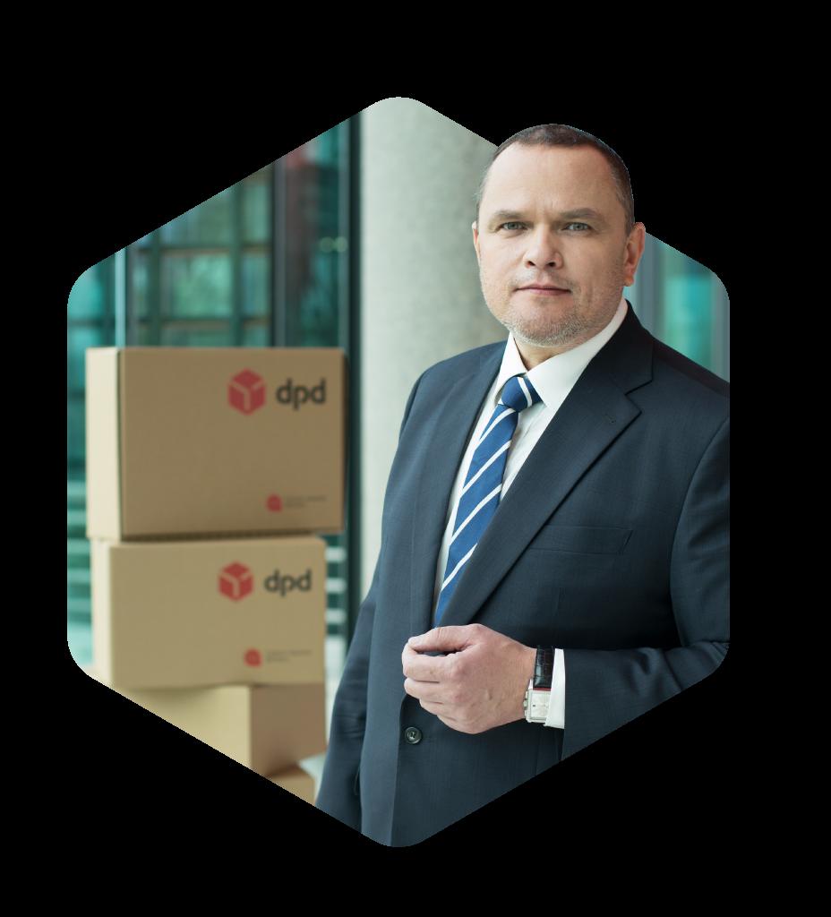 CEO DPD Polska Rafał Nawłoka