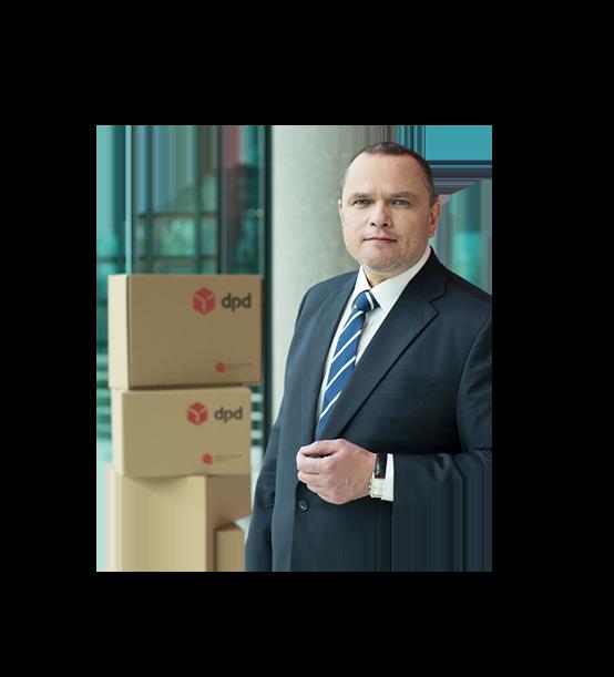 Rafał Nawłoka - prezes zarządu DPD Polska
