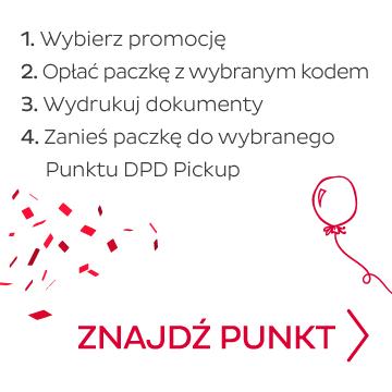 Promocja - paczki w DPD Polska w niskich cenach