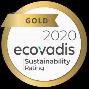 2020_ECOVADIS_DPDgroup_Gold medal